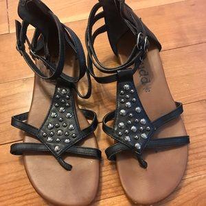 Mudd studded gladiator sandals 👡